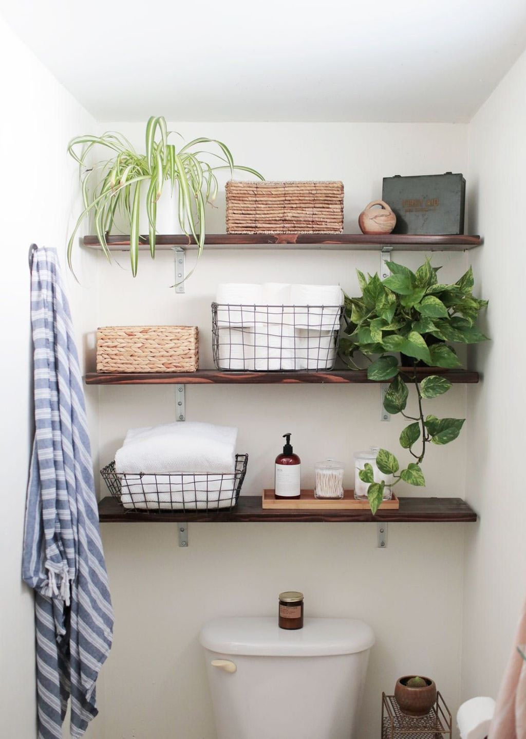 43 Affordable Diy Bathroom Storage Ideas For Small Spaces