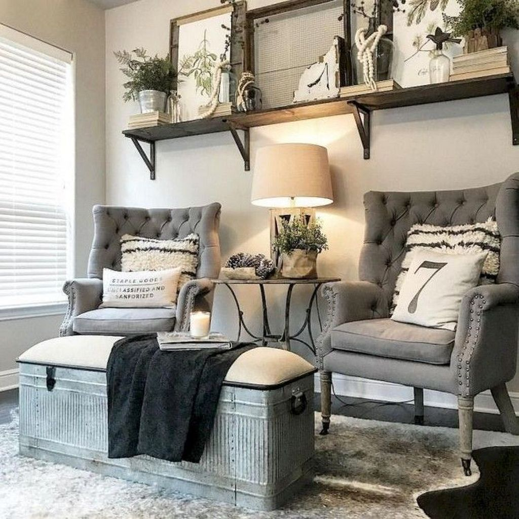 Stunning Living Room Wall Decoration Ideas 44