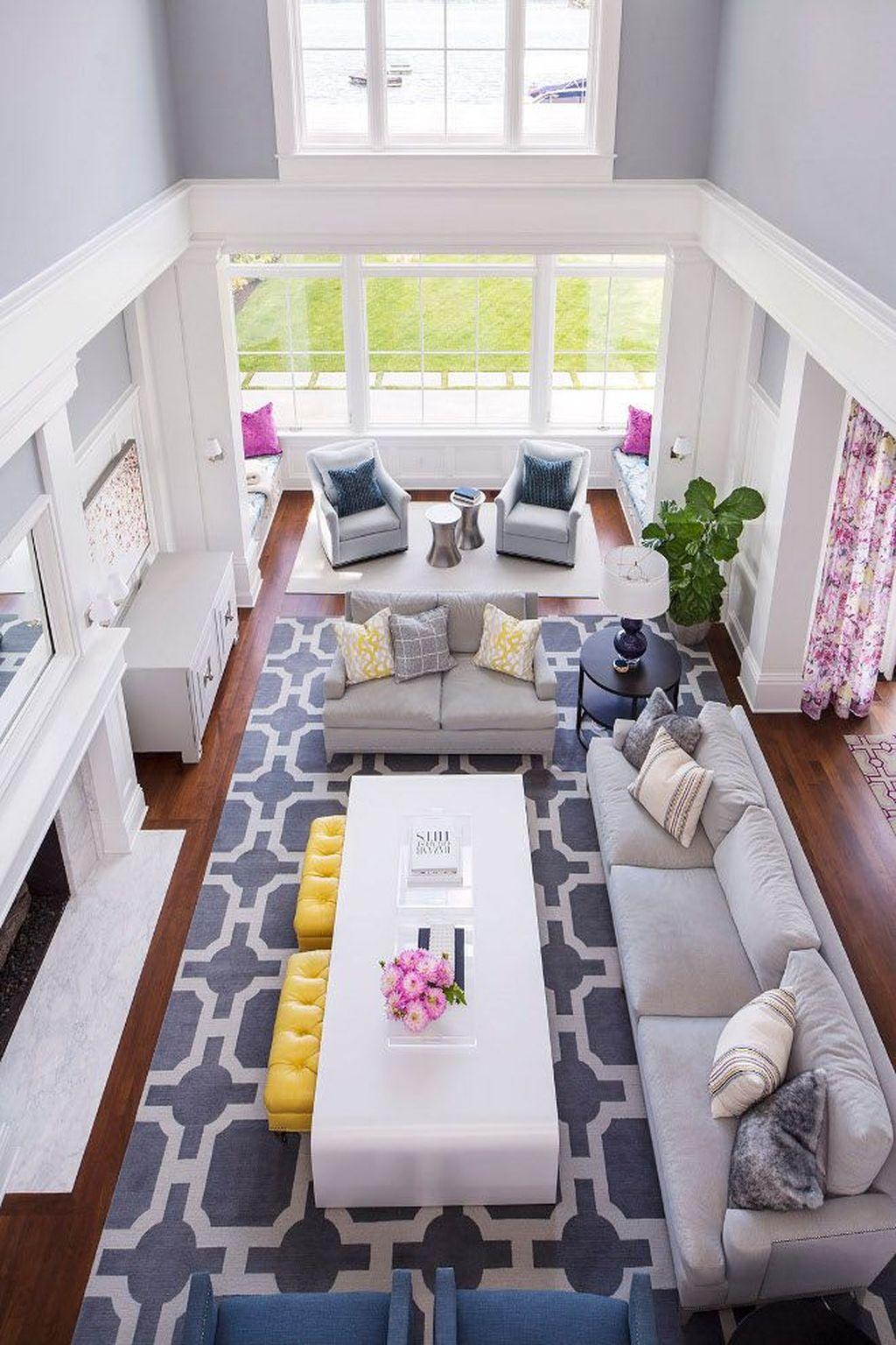 Stunning Living Room Wall Decoration Ideas 51